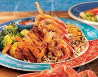 Maui Luau Shrimp and Salmon