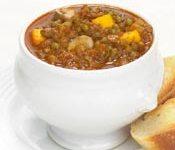 Meatless Squash and Mushroom Chili