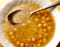 Mesciua (Garbanzo bean Soup)
