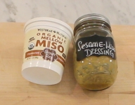 Sesame-Miso Salad Dressing