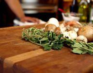 Roasted Herb Mushrooms