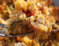 New England Sausage and Cornbread Stuffing