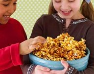 Chocolate Caramel Popcorn Recipe