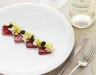 Tuna, Celery, Feijoa, Horseradish and Caviar