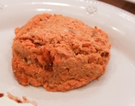 Curried Salmon Burgers