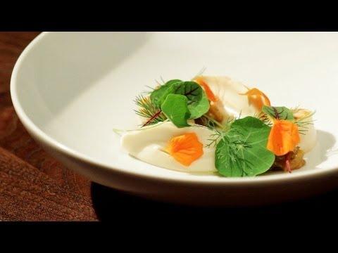 Grilled Scallops, Golden Raisin Relish