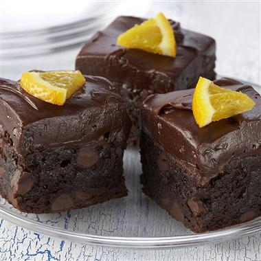 Orange Kissed Brownies Recipe
