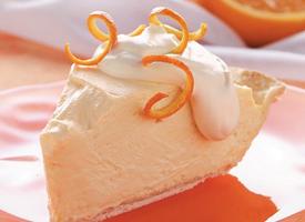 Orange Cheesecake Pie Recipe