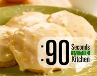 90 Second Orange Marmalade Cookies