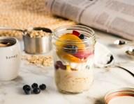 Fruit and Yogurt Overnight Oats Recipe
