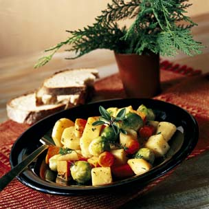 Pan Roasted Winter Vegetables