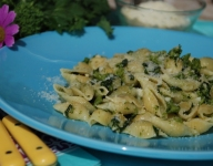 Pasta Shells with Broccoli Rabe