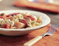 Pasta Salad with Grilled Tuna and Roasted Tomatoes