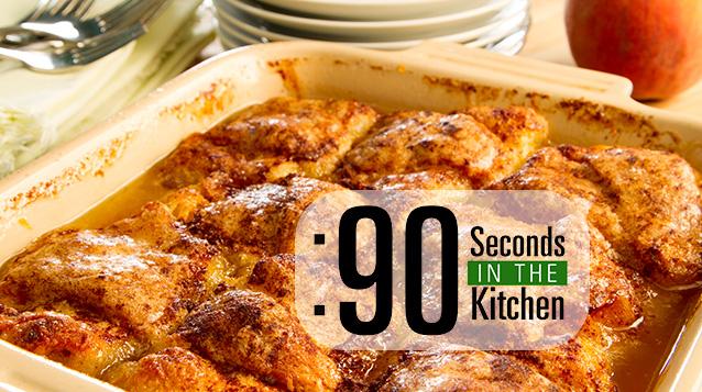 90 Second Peachiladas