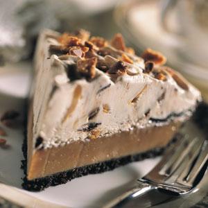 Peanut Butter Panic Ice Cream Pie