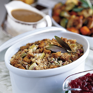 Chestnut and Sausage Dressing