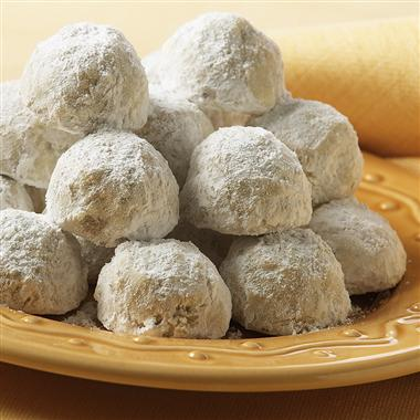Pecan Cookie Balls Recipe
