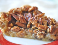 Honey Glaze Pecan Topping