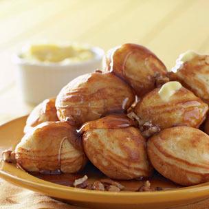 Pecan Pumpkin Filled Pancakes Recipe