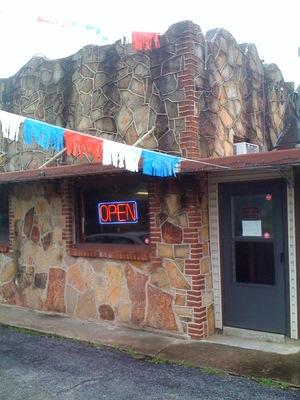 Route 66 cafe exterio
