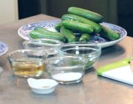 Freezer Dill Pickles