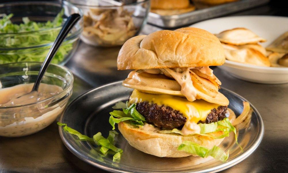 Watkins Glen Speedway Pierogi Burgers