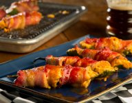 Darlington Pimento Cheese Stuffed Jalapenos with Candied Bacon Recipe