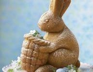 Bunny with Basket Cake