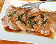Pork Medallion with Butter and Sage