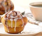 Potato Cinnamon Rolls with Sugar Glaze