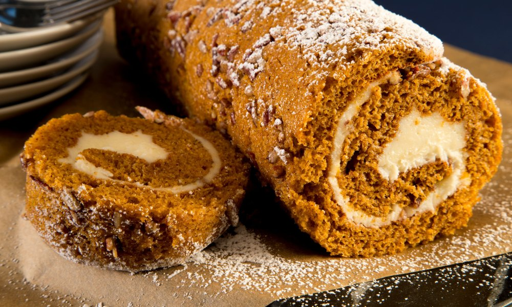 Pumpkin Pecan Roll