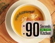 90 Second Pumpkin Bacon Soup