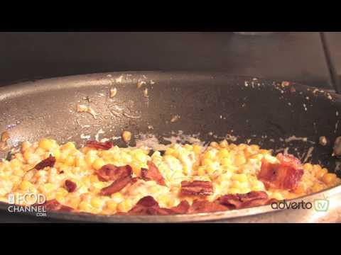 Cheesey Cream Corn with Smokey Bacon