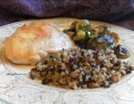 Mahogany Rice and Quinoa Stuffing