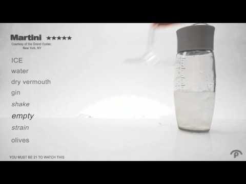 Mixology Martini