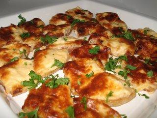 Cheesy Garlic Crab Bites