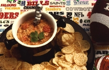 Hearty Game Day Mexican Dip