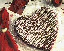 Be My Honey Valentine Cake