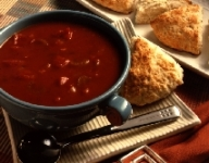Chunky Low Fat Tomato Soup