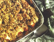 Scalloped Sweet Potatoes with Streusel Topping