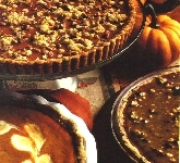 Pumpkin Cream Cheese Pie with Pecan Shortbread Crust