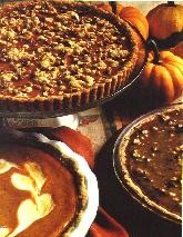 Hazelnut Praline Pumpkin Pie
