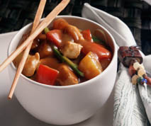 Low Fat Sweet and Sour Chicken Stir Fry