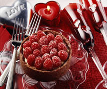 Cupid Cheesecake for Two