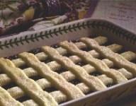 Blackberry Cobbler with Sweet Cream Lattice