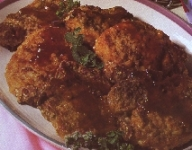 Baked Pork Chops with Currant Sauce