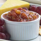 Rhubarb Chutney and Cheese Course Recipe