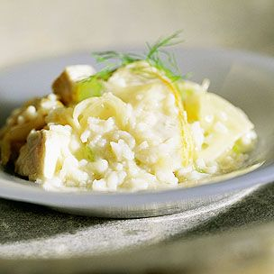 Risotto with Sea Bass and Fennel