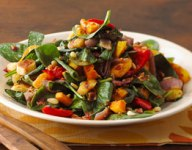 Roasted Vegetable Fall Salad