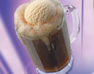 Spiked Root Beer Ice Cream Float